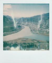 Two become One • PolaroidWeek   Day 2/1 (o_stap) Tags: river georgia believeinfilm ishootfilm 600film polaroid600 polaroidoriginals polaweek roidweek polaroidweek polaroid