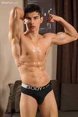 Jared Shaw (BoyFunNetwork) Tags: model malemodel xxx sexy gay gayxxx stud muscle fit jock abs briefs speedo czech euroboy boyfun