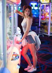 Jamie (Stunnaful-Photography) Tags: fashion stunnafulphotos stunnaful art arcade gaming photography neonlight retro gamergirl