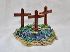 The Greatest Sacrifice...... (JBIronWorks) Tags: easter christ christian cross holiday celebration lego moc