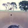 Pool v.1-Edit (Jeff D Welker) Tags: deepend arizona arlington divingboard hasselblad501cm kodakportra160 swimmingpool zeissdistagon60mmf35tcflens