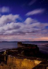 Breakwater at Saint Monans, Scotland. (ad12543) Tags: scotland fife stmonans breakwater coast water night stars orion sea
