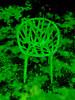The Strange Seat (Steve Taylor (Photography)) Tags: art digital design chair black green red uk gb england greatbritain unitedkingdom london texture