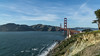 Golden Gate Bridge (SPP - Photography) Tags: usa sand costal bridge pacificocean cityscape goldengatebridge sausalito california coastline ocean sanfrancisco pacificcoast costline ruggedcoast coast belvedere beach