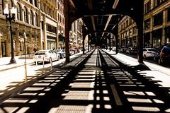 Chicago (Jordan Barab) Tags: chicago street streetphotography sonydscrx100markiii cta tracks shadows