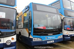 Stagecoach 28514 (anthonymurphy5) Tags: dadnladtransportphotos stagecoach 28514 po56jdj n94ob eastlancsesteem gillmossbusgarage 020418 outside buses buspictures busspotting bus busgarage