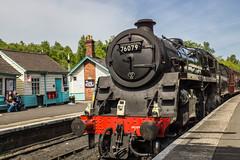 BR Standard 4 No: 76079 (Gary S Bond) Tags: br standard 4 north yorkshire moors railway 2018 76079 a65 alpha grosmont heritage history nymr shabbagazmay sony station steam train trains brstandard4 northyorkshiremoorsrailway england unitedkingdom
