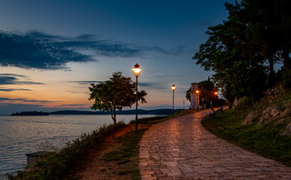 Evening Mood on the Waterfront Promenade