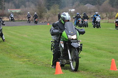 IMG_2408 (jcravens) Tags: motorcycle bikes motos offroad clinic class gravel wet grass mud bmw klr usa washington pnw