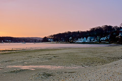 Fleets Cove Dawning (lindajwhelan) Tags: beach huntington longisland harbor sand sky dawn sunrise firstlight