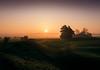 knowlton mist (Anthony White) Tags: eastdorsetdistrict england unitedkingdom gb droplets naturaleza nature natur sunlight dispersion moist air dorset abandoned foggy orangesunrise