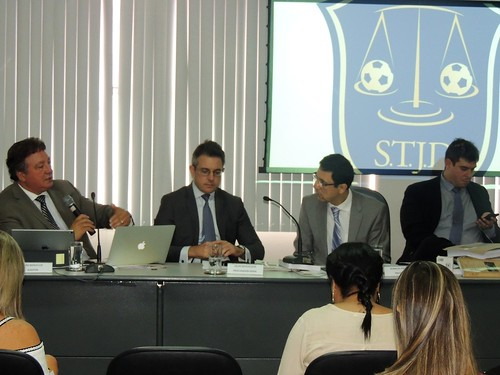 Realização de sessão do STJD no Estado - 12/04/2018