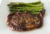 The caveman (Homemade) (StephenJayPhoto) Tags: food foodie homecooking foodphotography meal dinner steak ribeye asparagus vancouver bc canada beef dof bokeh