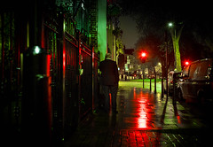 night snap (kenichiro_jpn) Tags: ロンドン ngiht street nightshot red green nightvew