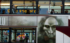 'Friday the 13th' (Canadapt) Tags: bus advertisement passengers ghoul street fridaythe13th edinburgh scotland canadapt