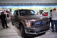 Ford F150 pickup -- 2018 North American International Auto Show (Corvair Owner) Tags: north american international auto show detroit michigan mi mich new car display automobile truck suv crossover manufacturer january 2018 cobo arena hall center winter ford f150