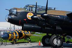 C-GVRA (ED932 -Dambusters) (Steelhead 2010) Tags: canadianwarplaneheritagemuseum cwhm avro lancaster dambusters yhm creg cgvra ed932
