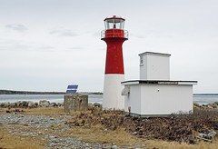 NS-00071 - Pubnico Harbour Lighthouse (archer10 (Dennis) 137M Views) Tags: sony a6300 ilce6300 village 18200mm 1650mm mirrorless free freepicture archer10 dennis jarvis dennisgjarvis dennisjarvis iamcanadian novascotia canada pubnico harbour fibreglass tower red white lighthouse lighthouseroute
