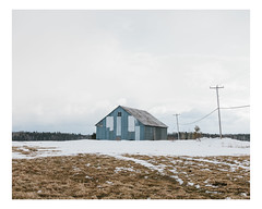 hébertville (Mériol Lehmann) Tags: landscape winter topographies barn canada rural quebec lacsaintjean snow hébertville québec ca