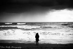 Towards the sea (broadswordcallingdannyboy) Tags: westbay beach sea waves atmosphere mood dorset leonreillyphotography copyright eos7d 1740mm westcountry dramatic sky bw storm mono seascape copyrightleonreillyphotography donotcopy