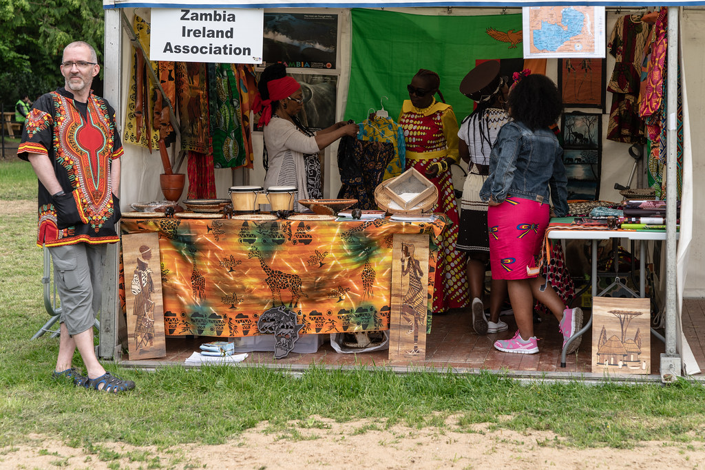 AFRICA DAY 2018 IN DUBLIN [FARMLEIGH HOUSE - PHOENIX PARK]-140518