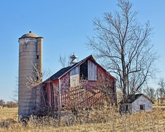 Old Barn (chumlee10) Tags: barn boonecounty silo abandoned vintage decrepit