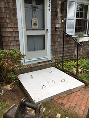 Granite step complete removal and replacement
