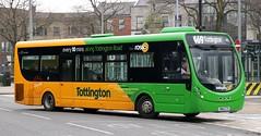 Transdev Rosso 610 SN64CTX on 'Tottington line' duties at Bury Interchange. (Gobbiner) Tags: tottingtonline 610 burnleybuscompany rosso sn64ctx brontëbus transdev keighleydistrict streetlite wrightbus bury