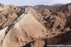 5 Viajefilos en China, PN Danxia  29 (viajefilos) Tags: viajefilos asia china bauset zhangye danxianp rutadelaseda