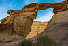 Burdah Rock bridge 4 (chriswalts) Tags: jordan travel tourism middleeast wadi rum desert sand wadirum burdahrockbridge burdah rock bridge