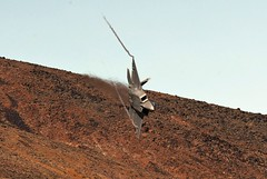 INCOMING (Dafydd RJ Phillips) Tags: raptor f22 low level jedi transition star wars rainbow canyon operational test