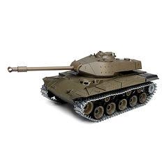 Henglong 3839-1 1/16 2.4G Smoking US M41A3 Walker Bulldog RC Car Battle Tank Metal Gearbox Toys (1268332) #Banggood (SuperDeals.BG) Tags: superdeals banggood toys hobbies henglong 38391 116 24g smoking us m41a3 walker bulldog rc car battle tank metal gearbox 1268332