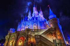 Cinderella Castle | Magic Kingdom (Pandry 2015) Tags: castles themepark themeparks florida orlando canondslr canon6d stars disneyparks fun colors cinderellacastle cinderella fantasyland nightphotography nighttime disneyphotography magickingdom disneyworld waltdisney waltdisneyworld wdw