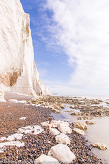 Seven Sisters cliffs from Cuckmere Haven beach *6* (Zoë Power) Tags: sevensisterscountrypark coast whitecliffs sevensisters eastsussex uk cuckmerehaven