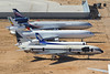 Trijets at Victorville (ColinParker777) Tags: delta dl lockheed tristar l1011 n729da n546bc mcdonnell douglas boeing md11 md11f et ethiopian cargo freight freighter aeroflot su russian airlines airways derelict stored store retire retired spares parts ana a320 airbus 320 scrap scrapping scrapped desert vcv kvcv victorville socal california logistics airport southern usa america united states canon 7d 7d2 7dmk2 7dmkii 7dii 100400 zoom telephoto l por