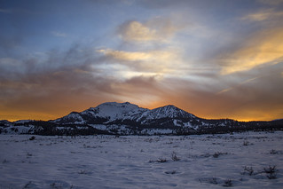 Mammoth Mtn. sunset