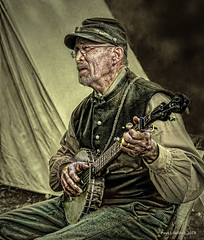 Old Sarge's Banjo (jackalope22) Tags: banjo music grampa sarge civil war sergeant