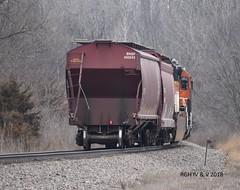 Something Is Missing (R.G. Five) Tags: railroad bnsf train stratford aurora sub rochelle