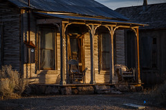 Nevada Mining Town Building (Jeffrey Sullivan) Tags: old historic building mining ghost town nye county nevada usa abandoned rural decay photography canon eos 6d photos copyright jeff sullivan march 2018