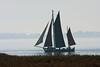 Zeesboot auf dem Bodden (Burminordlicht) Tags: vorpommern darss prerow bodden balticsea boot boat boats sailing sailingboat sailingship fog foggy