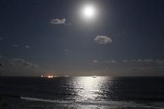 A Moonlit Ocean (Rckr88) Tags: a moonlit ocean amoonlitocean moon moonlight sea water wave waves coast coastline coastal sky skies cloud clouds cloudyocean cloudy ship ships durban southafrica south africa kwazulunatal umhlanga travel travelling