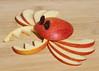 096/365 Crab Apple (Helen Orozco) Tags: fruitcarving apple 96365 crab fun fruit 2018365 crabapple raisins