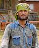 Worli Village (grab a shot) Tags: canon eos 5dmarkiv india maharashtra mumbai 2018 outdoor worlivillage fishermen fishingvillage roublenagiartfoundation painters man portrait