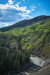 Sheep Falls - Kananaskis (dhugal watson) Tags: sheep falls kananaskis alberta canada river fuji x100f foothills