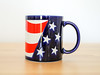 US Flag Mug (.godo) Tags: etsy vintage red white blue stars stripes flag usa us america patriot conservative altright rightwing 2ndamendment 1stamendment patriotic vet veteran gift otagiri mug coffee cup ceramic dishes kitchen
