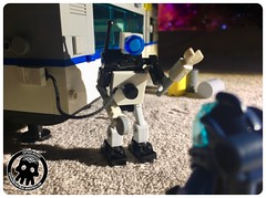 48-34 Charging Up (captainmutant) Tags: afol classic space lego ideas legospace legography photography minifig minifigs minifigure minifigures moc sciencefiction science fiction scifi exploration brickography toy custom