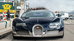 407 km/h (Mattia Manzini Photography) Tags: bugatti veyron supercar supercars cars car carspotting nikon w16 blue carbon automotive automobili auto automobile geneva geneva2018 hypercar