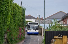 Mini ALX Homecoming (Better Living Through Chemistry37) Tags: route60 w102pms agz7303 dennis dennisdart ourbus torbaycommunitydevelopmenttrust buses busessouthwest busesuk transport transportation psv publictransport cockingtonlane
