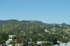 On a Clear Day You Can See to Hollywood (aaronrhawkins) Tags: hollywood sign hills homes losangeles la wind haze smog city crystal lowes hotel 19th floor vista southerncalifornia spring green bright aaronhawkins