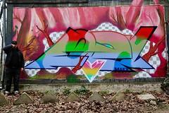Forest Jump (Paulee (NZ)) Tags: graffiti art forest style streetart urban urbanart streetphotography color artist budapest hungary budapestgraffiti europe